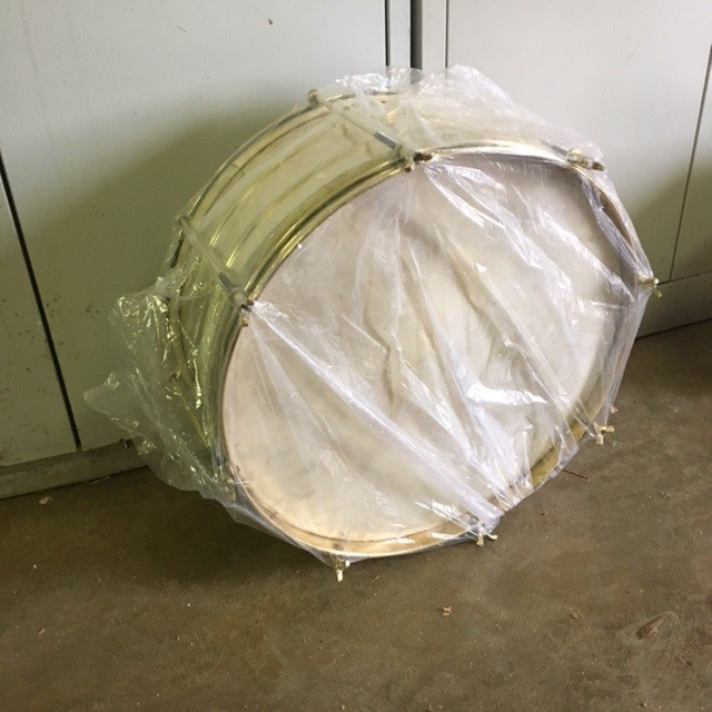 Bassdrum Messing 20""