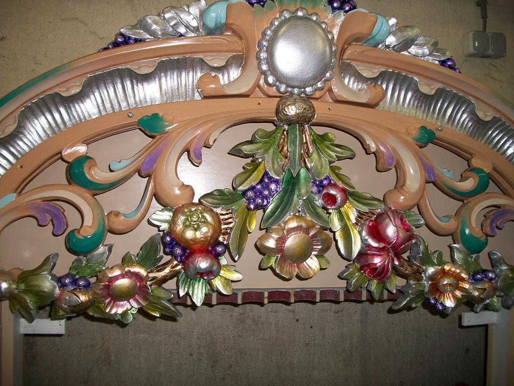 Draaiorgel de Kaaspoorter - Bloemdecoratie