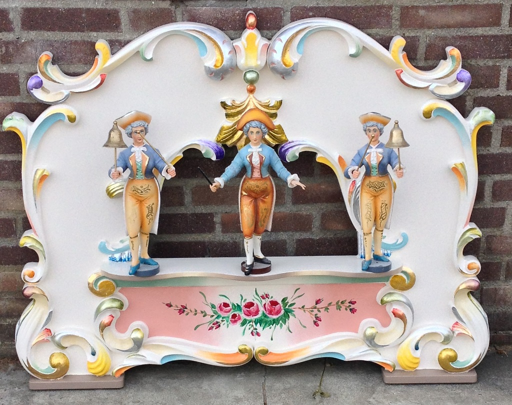 Decoratie Klein Orgelfrontje